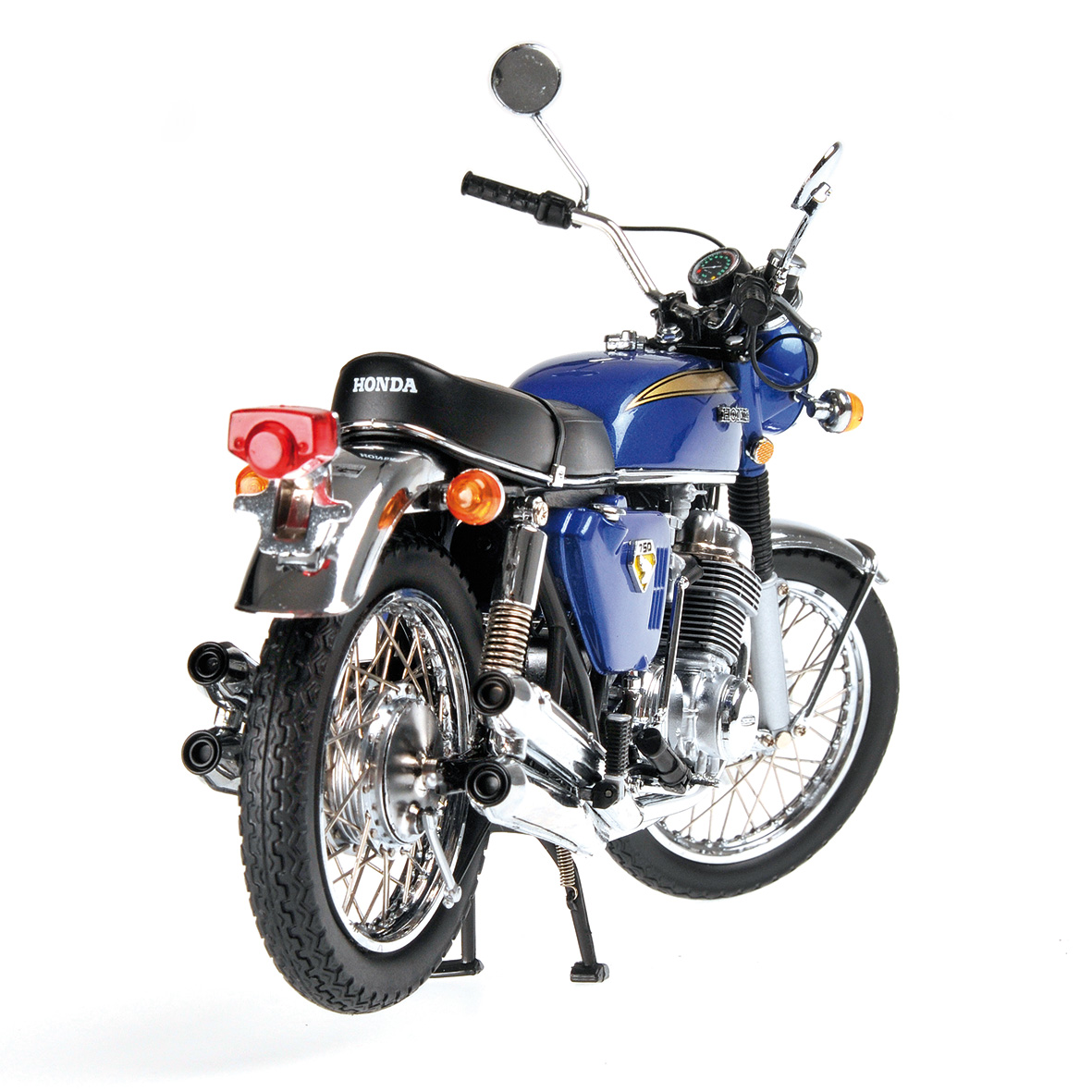 racing scale models honda cb 750 1968 blue by minichamps. Black Bedroom Furniture Sets. Home Design Ideas