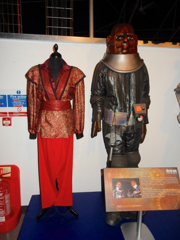 Doctor Who Rani Sontaran costumes