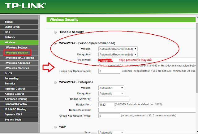 Hướng dẫn thay đổi mật khẩu Wifi mạng VNPT