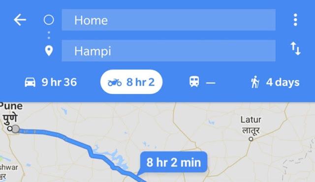 Motorcycle Mode, Fitur Baru Google Maps Untuk Pengguna Sepeda Motor
