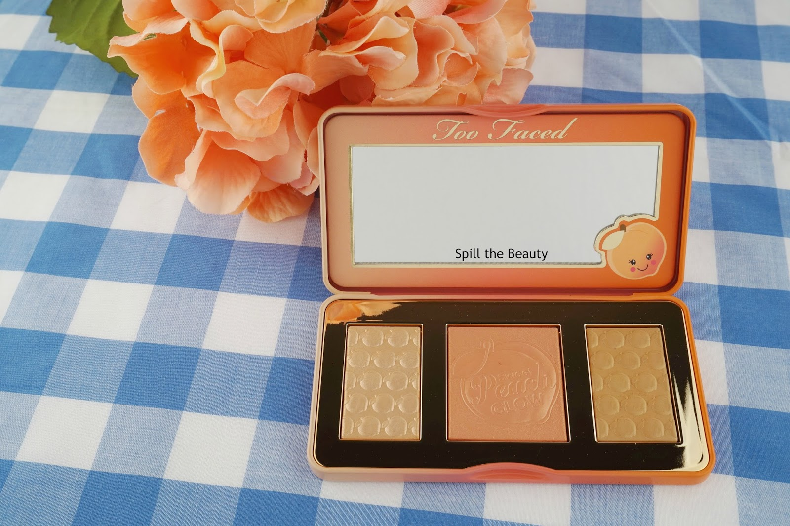 Too Faced Sweet Peach Glow – Review, Swatches, and Look