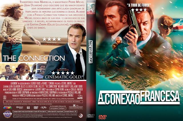 Capa DVD A Conexão Francesa