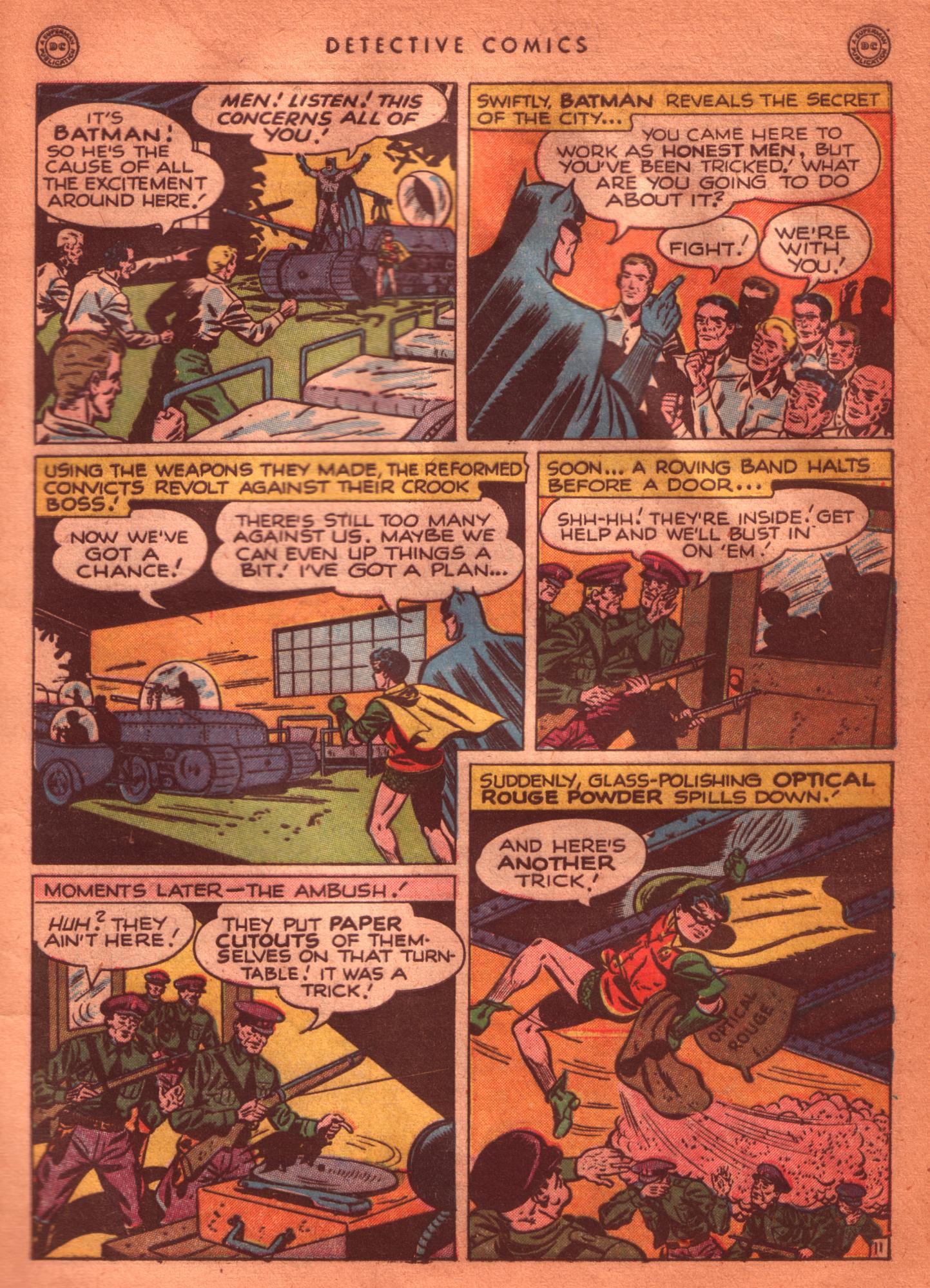 Read online Detective Comics (1937) comic -  Issue #125 - 13