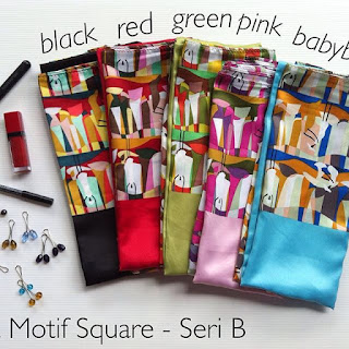 Velvet Motif Square