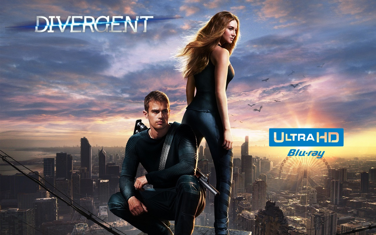 Divergent 4K (2014) 4K Ultra HD Blu-ray Pre-order Buy Now
