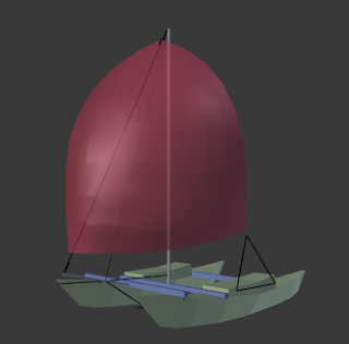 Tiki 21 with an A2