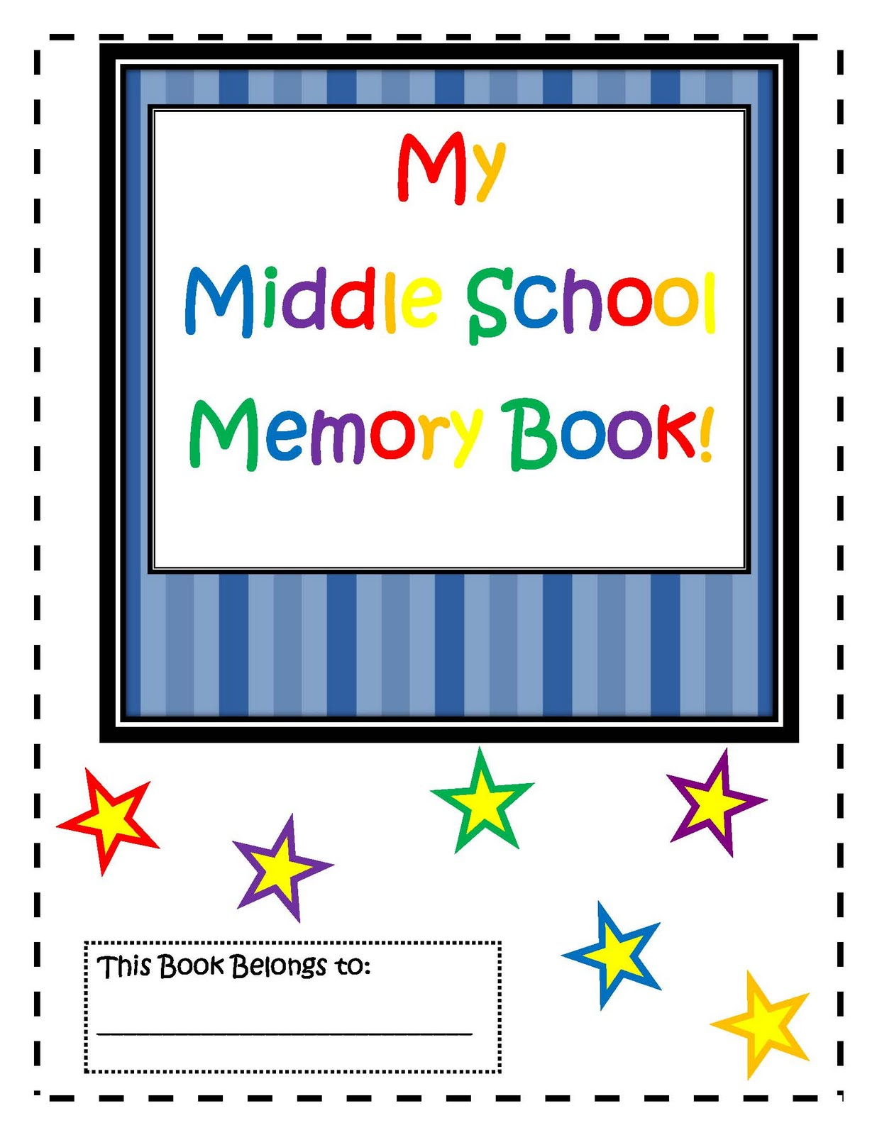 Engaging Lessons And Activities Middle School Memory Book