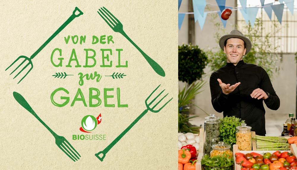Food-Artist und Jungunternehmer Sandro Zinggeler: «Ich möchte die Lebensmittelvielfalt ausschöpfen»