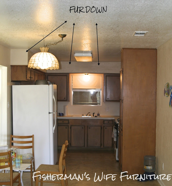 Space Above Kitchen Cabinets: How To Cover Space Above Cabinets