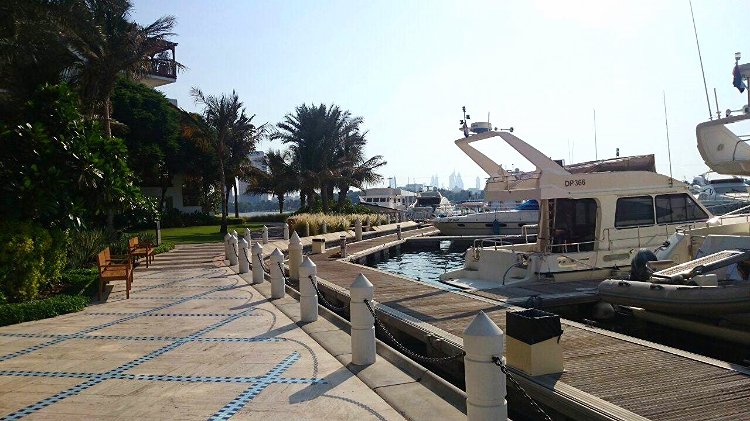 Euriental | brunch at Traiteur, Park Hyatt Dubai. Yacht club.