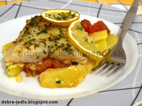 Ryba na zemiakoch - recepty
