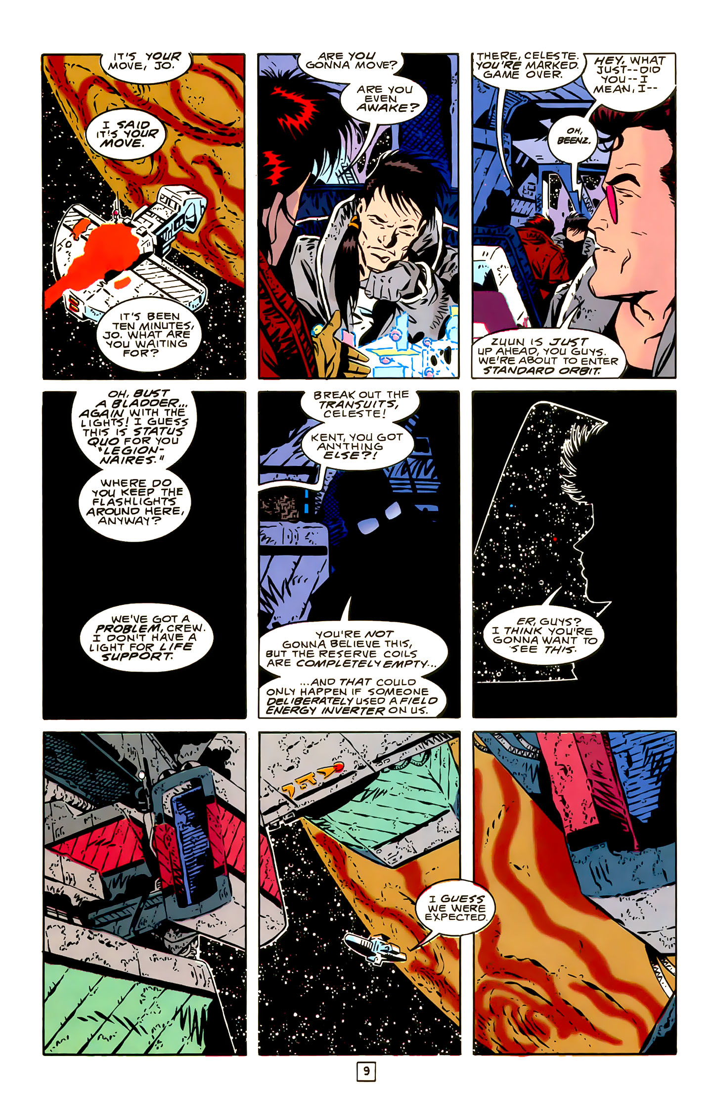 Legion of Super-Heroes (1989) 22 Page 9