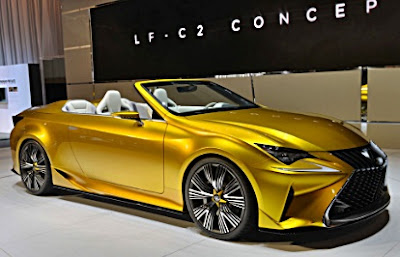 2017 Lexus LF C2 Specs, Release Date And Concept