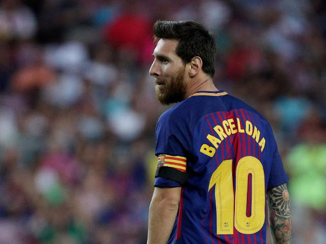 Messi Tanpa Suarez dan Neymar: 0 Gol, 3 Kali Kena Tiang