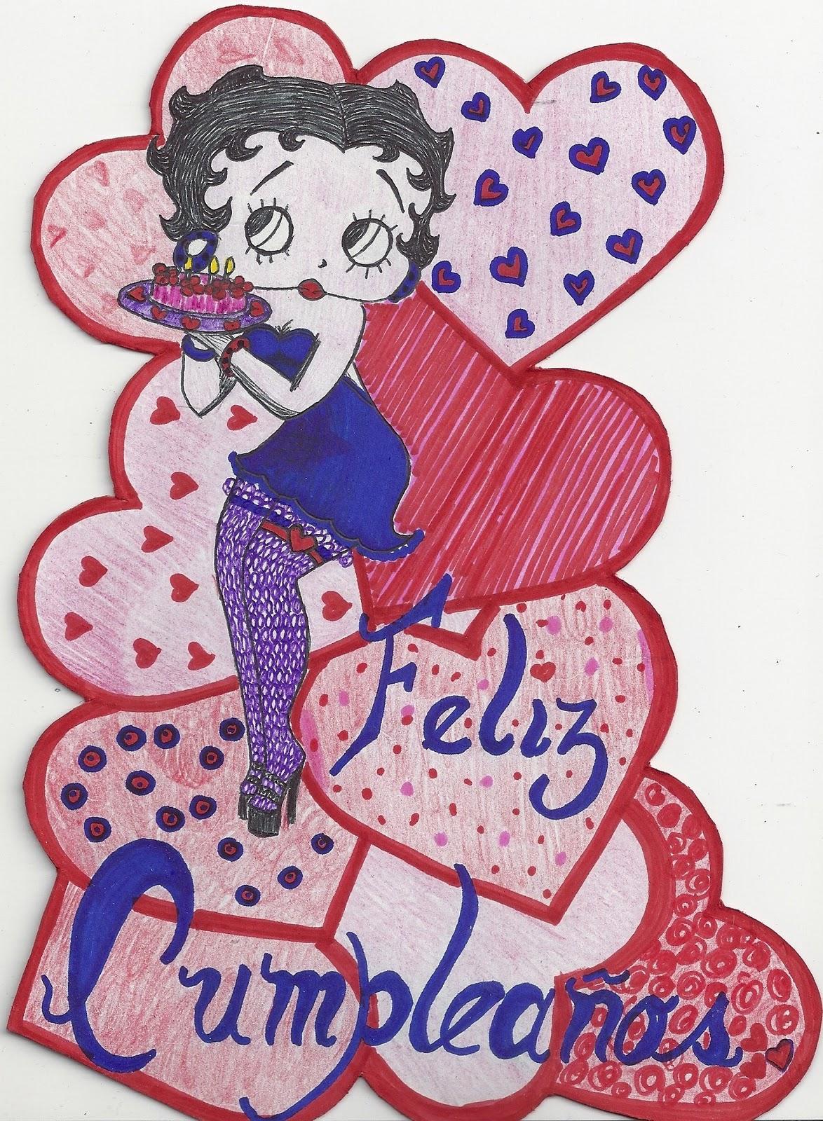 Feliz Cumpleaños De Betty Boop
