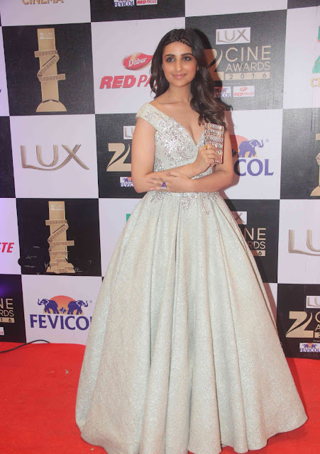 Parineeti Chopra in Tarek Sinno Long Gown