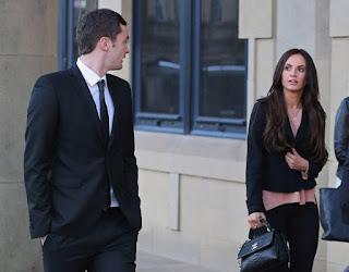 ex-wife Stacey And Adam At Court Hearing