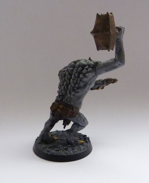 Cave Troll from Lord of the Rings Strategy Battle Game