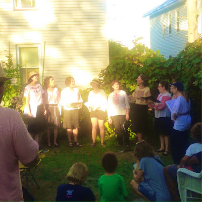 Sestra Balkan A Cappella Women's Singing Group at Rozzie Porch Fest