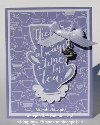 Tea Time, Happy Birthday