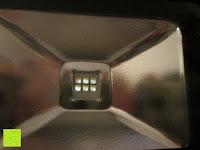LEDs: as - Schwabe Chip-LED-Akku-Strahler 10 W, geeignet für Außenbereich, Gewerbe, blau, 46971