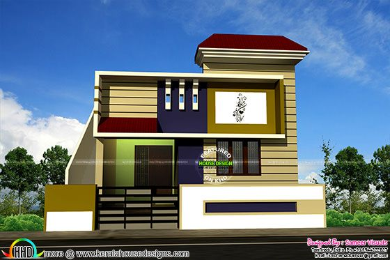 1200 sq-ft 2 BHK house