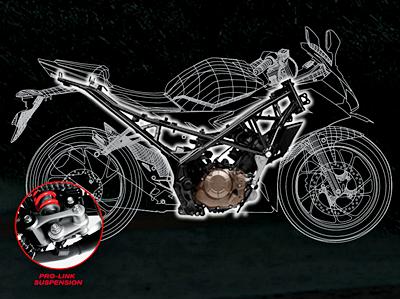 Spesifikasi Honda CBR 150R Terbaru 2016 - Rangka dan Sasis