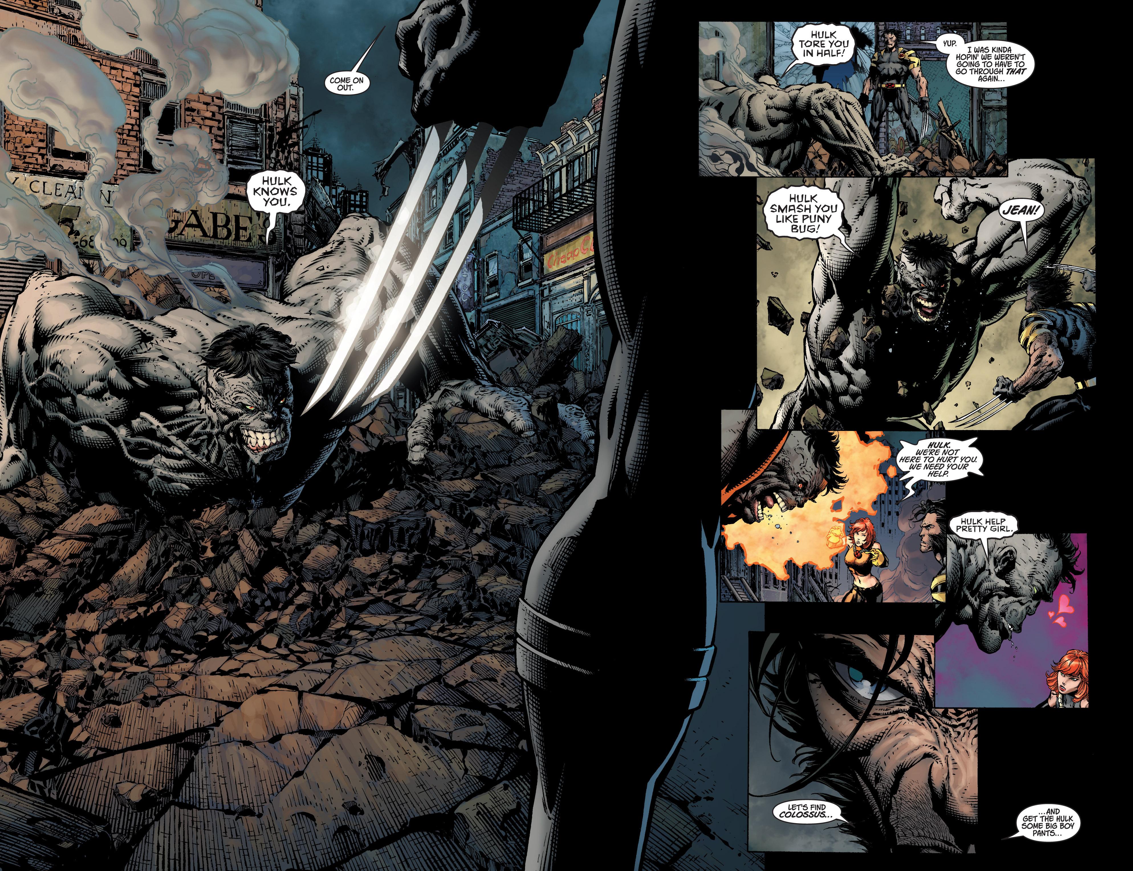 Read online Ultimatum comic -  Issue #4 - 10
