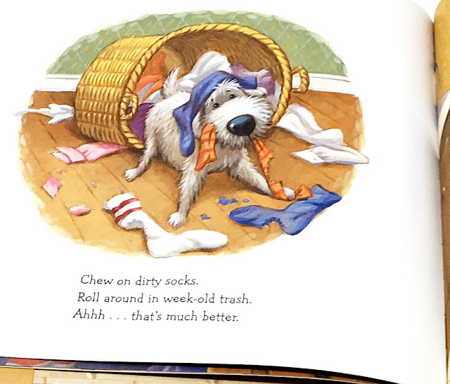 Dogku is the perfect mentor text for teaching Haiku.