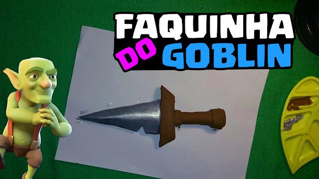 Como criar a faquinha do Goblin - Clash Royale