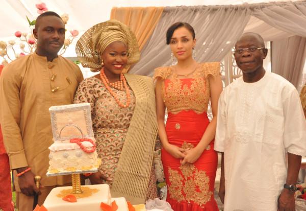 Oshomole s wedding