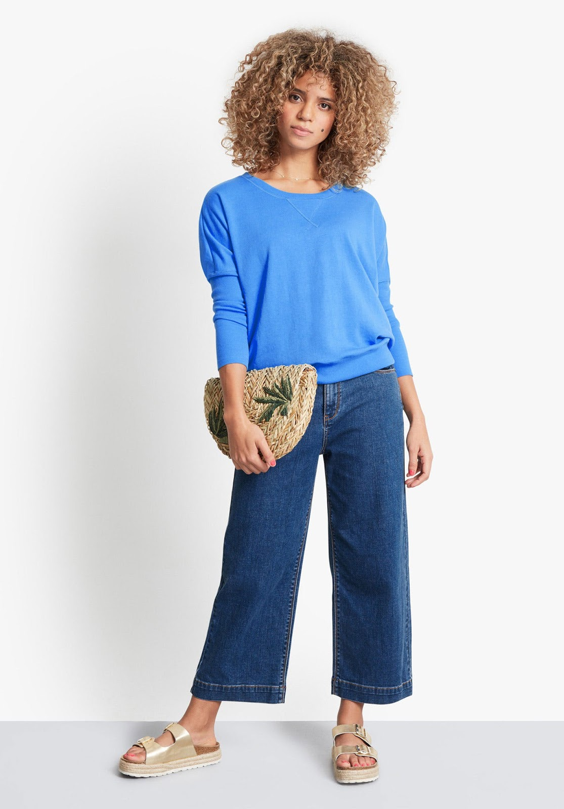 hush moritz wide cropped jeans