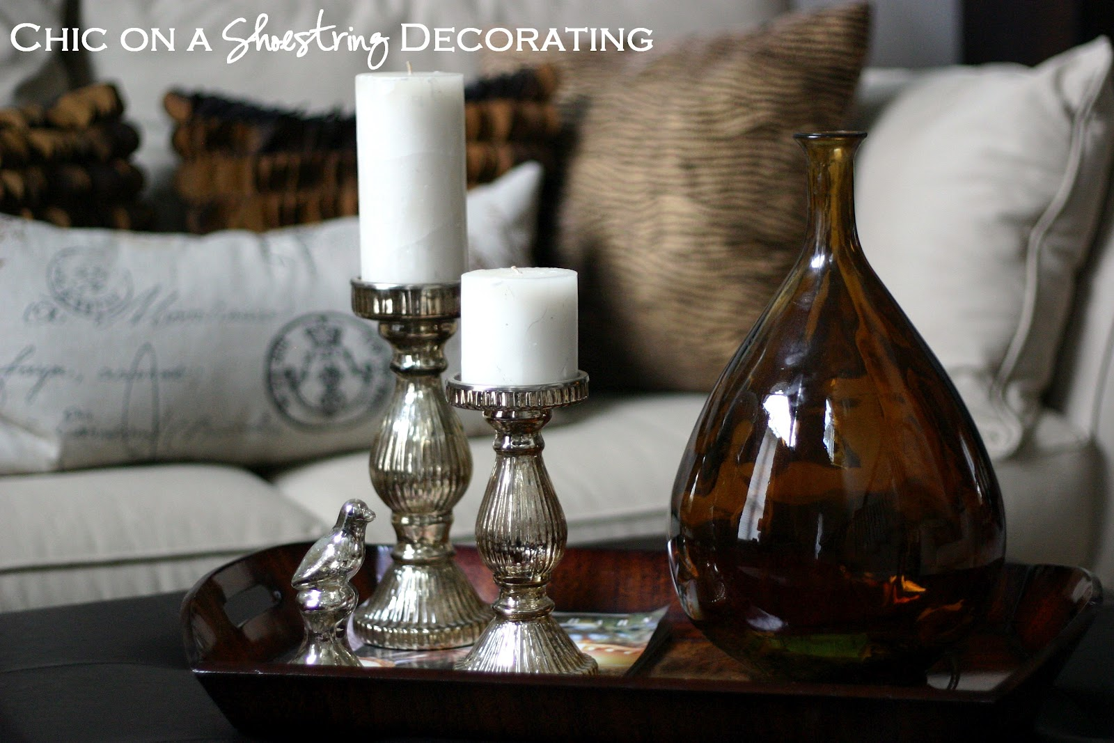 Chic On A Shoestring Decorating My Living Room Tour