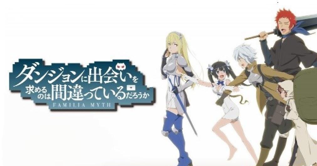 DanMachi BD ( Episode 01 - 13) English Subtitle
