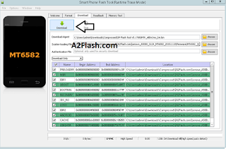 Tips Cara Flash Lenovo A5000 Via PC Mudah