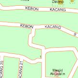 Nama-nama Tempat Berawalan Kata Kebon