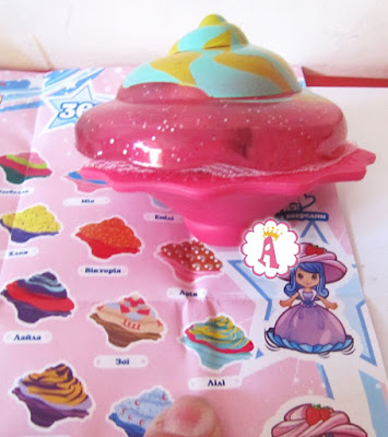 Кукла кекс пирожное поп-кейк