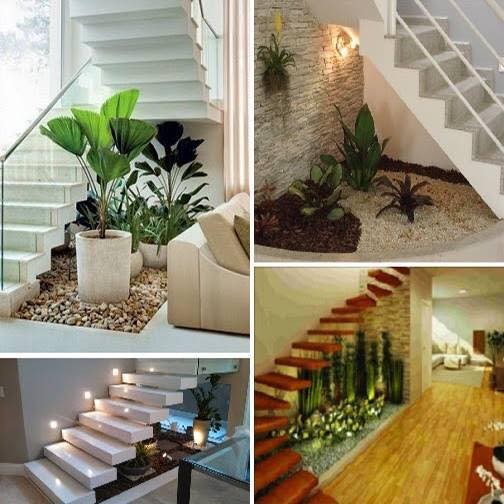 30 spectacular indoor small pebble garden ideas decor units for Garden design under the stairs