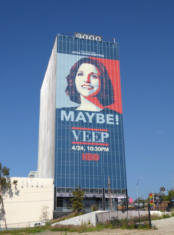 Veep season 5 TV billboard