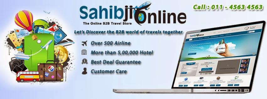 Sahibji Online | B2B Travel Consolidator: Best b2b Travel