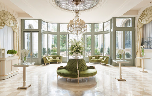 Bright light and large windows in renovated Ritz Paris
