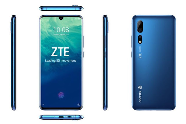 MWC 2019: ZTE's first 5G smartphone launched (Axon 10 Pro/ Axon 10)