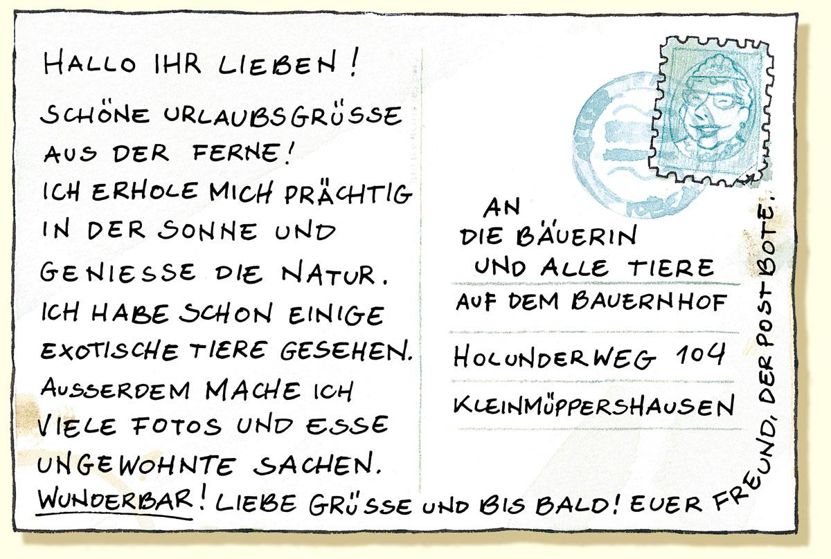 Illustration Alexander Steffensmeier: Lieselotte macht