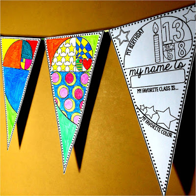 Back to School Math pennant