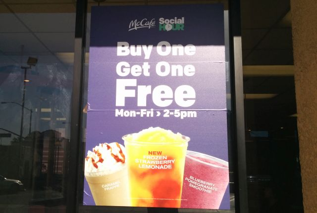 Dec 01,  · At participating Killeen, Cove, Heights and surrounding locations, McDonald's is offering Buy One Get One FREE ANY McCafe drinks and any size between pm every day!