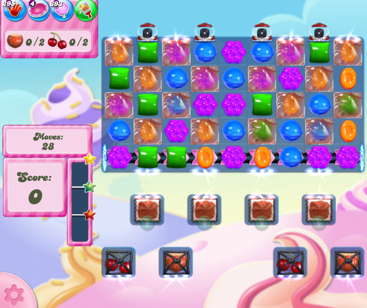 Candy Crush Saga level 2833