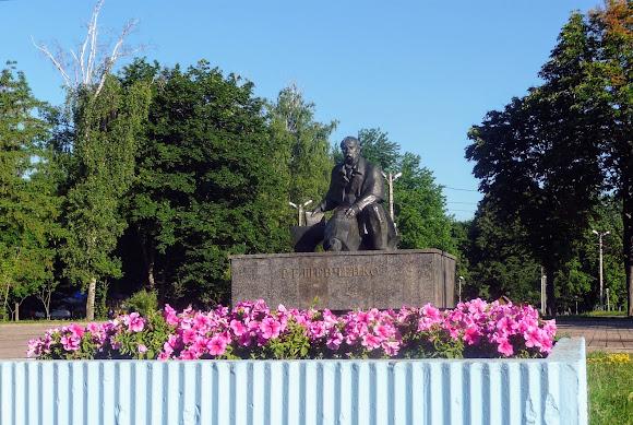 Конотоп. Пам'ятник Т. Г. Шевченку