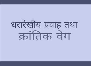 Dhararekhiy pravah krantik pravah