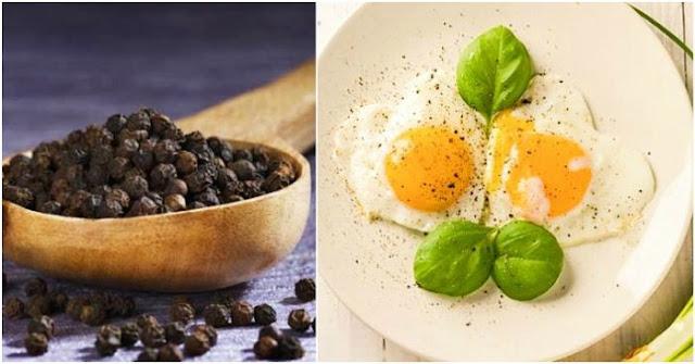 Để món trứng bổ dưỡng hơn, hãy thêm chút hạt tiêu đen
