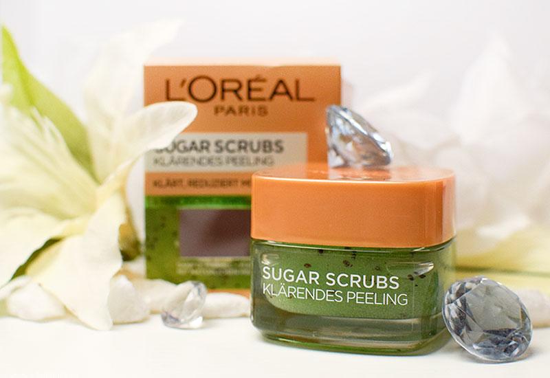 L'Oréal Paris Sugar Scrubs Klärende Peeling, Test